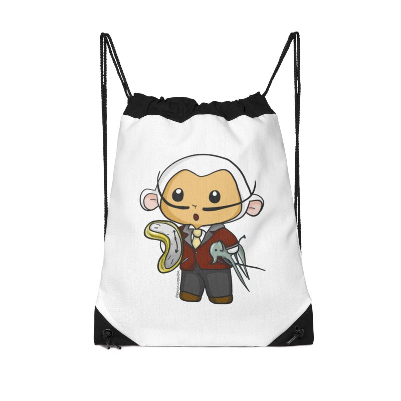 Salvador Lambì Accessories Drawstring Bag Bag by Dino & Panda Inc Artist Shop