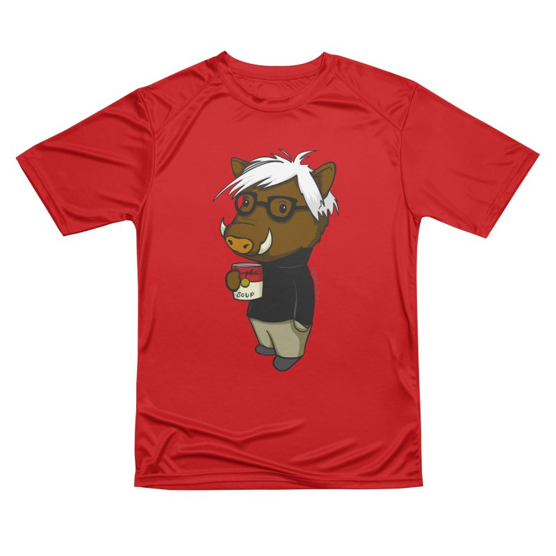 Andy Warthog Women's Performance Unisex T-Shirt by Dino & Panda Inc Artist Shop