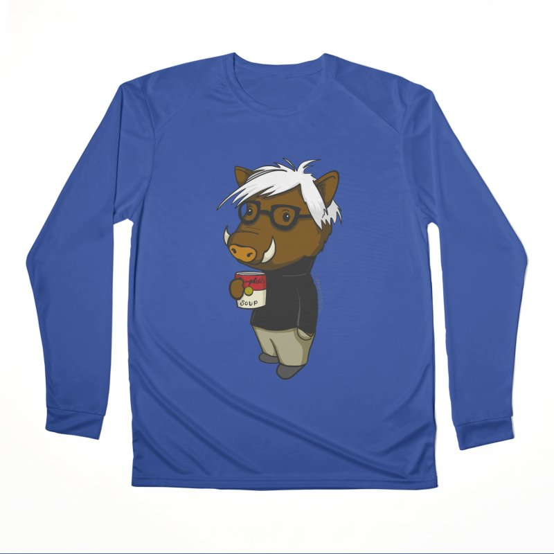 Andy Warthog Men's Performance Longsleeve T-Shirt by Dino & Panda Inc Artist Shop
