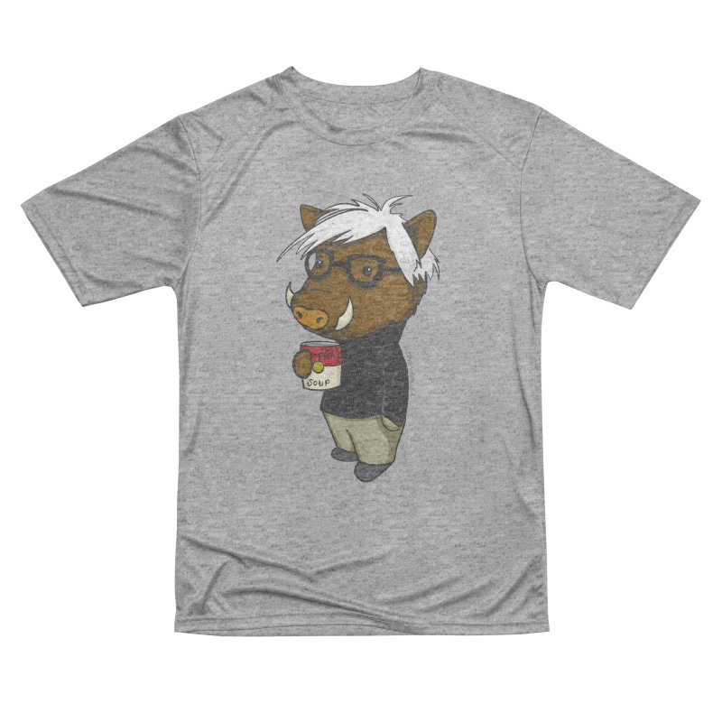Andy Warthog Women's Performance Unisex T-Shirt by Dino & Panda Inc Artist Shop