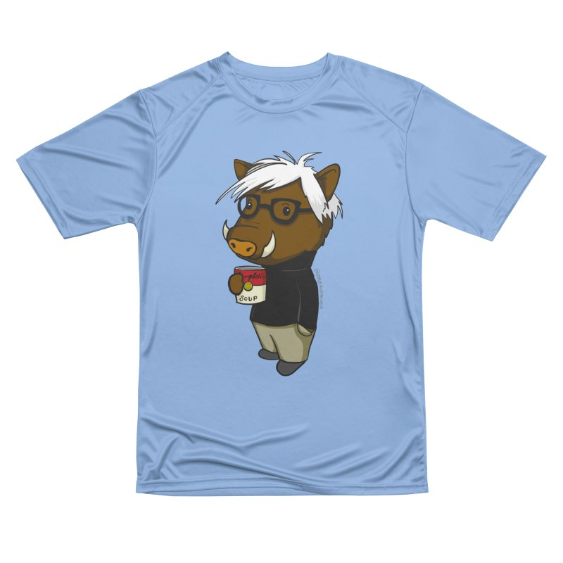 Andy Warthog Men's Performance T-Shirt by Dino & Panda Inc Artist Shop