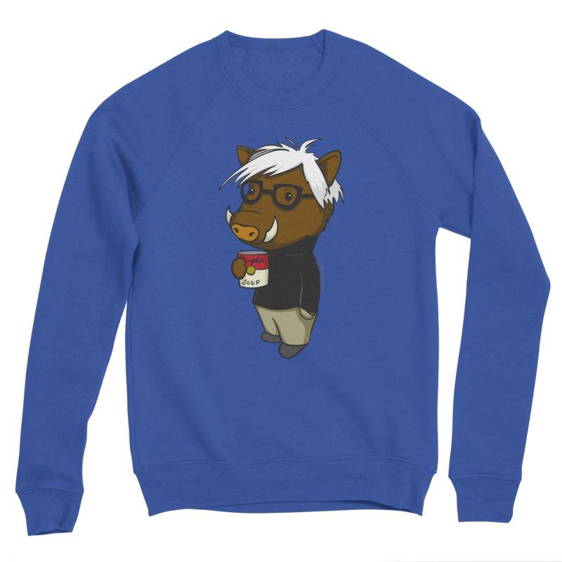Andy Warthog Men's Sweatshirt by Dino & Panda Artist Shop