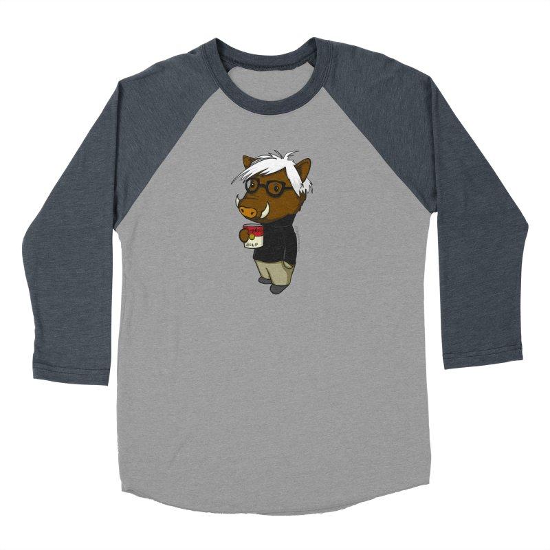 Andy Warthog Women's Longsleeve T-Shirt by Dino & Panda Artist Shop