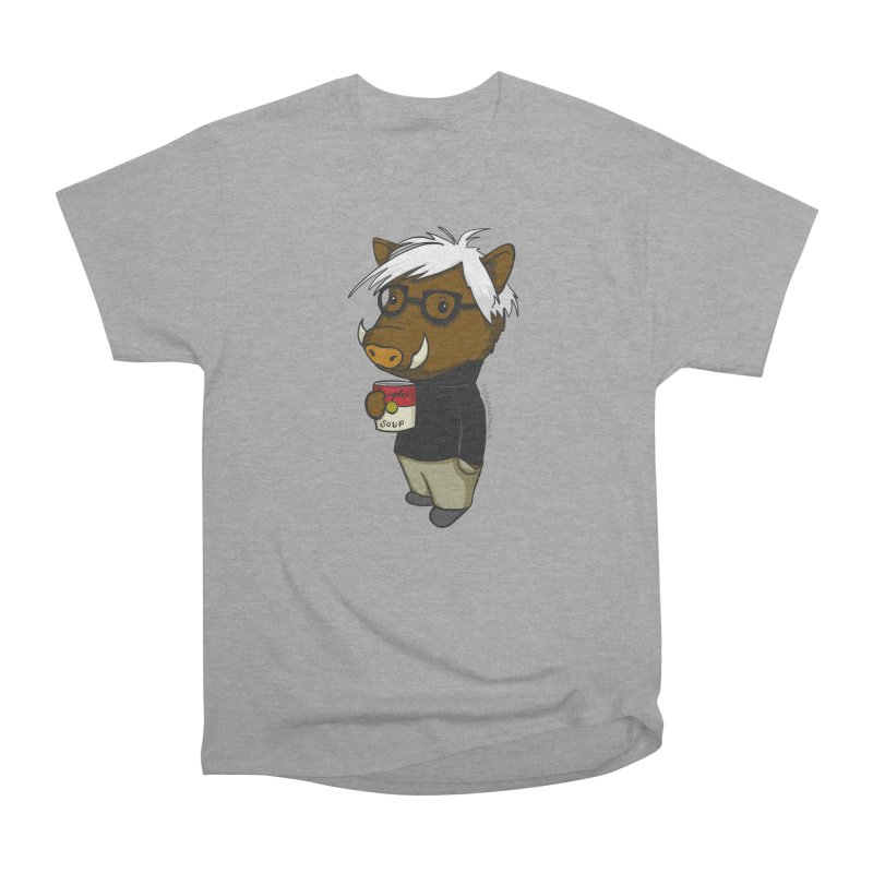 Andy Warthog Men's Heavyweight T-Shirt by Dino & Panda Inc Artist Shop