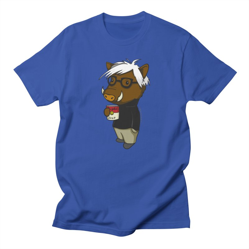 Andy Warthog Women's Regular Unisex T-Shirt by Dino & Panda Inc Artist Shop