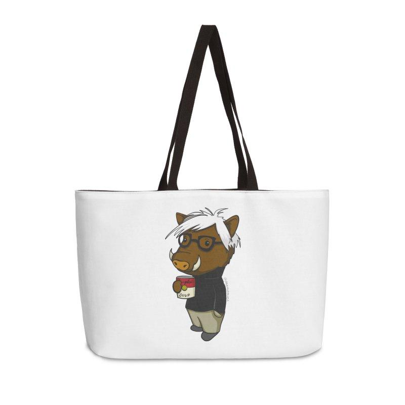 Andy Warthog Accessories Weekender Bag Bag by Dino & Panda Inc Artist Shop