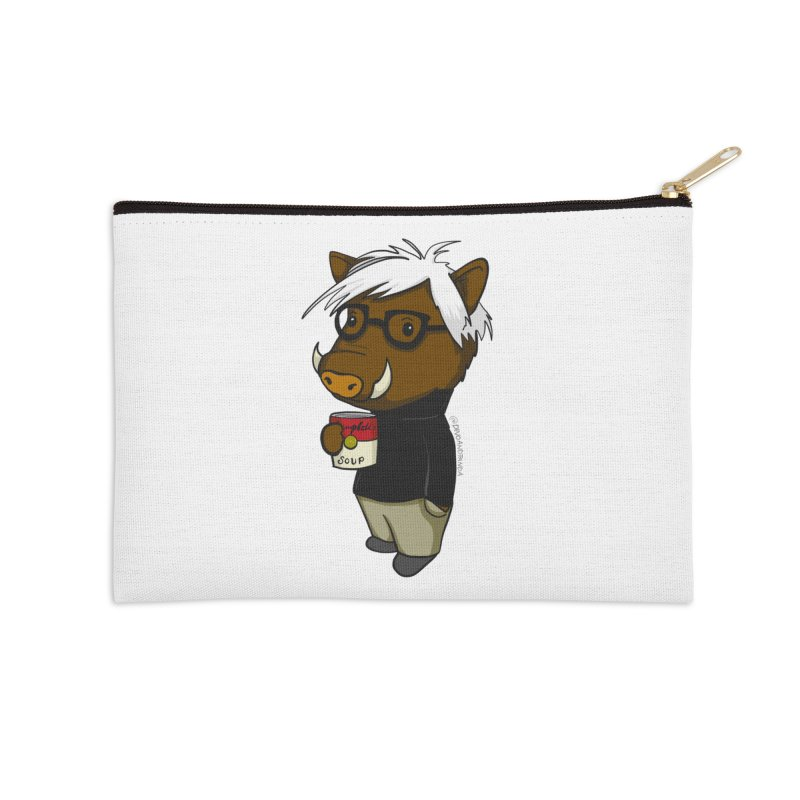 Andy Warthog Accessories Zip Pouch by Dino & Panda Inc Artist Shop