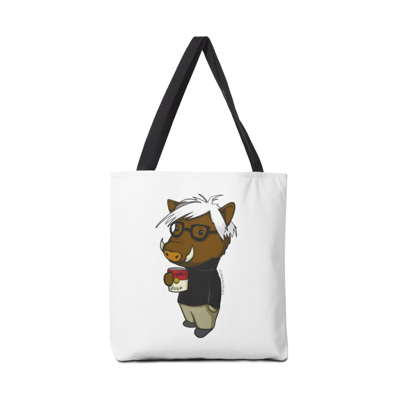 Andy Warthog Accessories Tote Bag Bag by Dino & Panda Inc Artist Shop