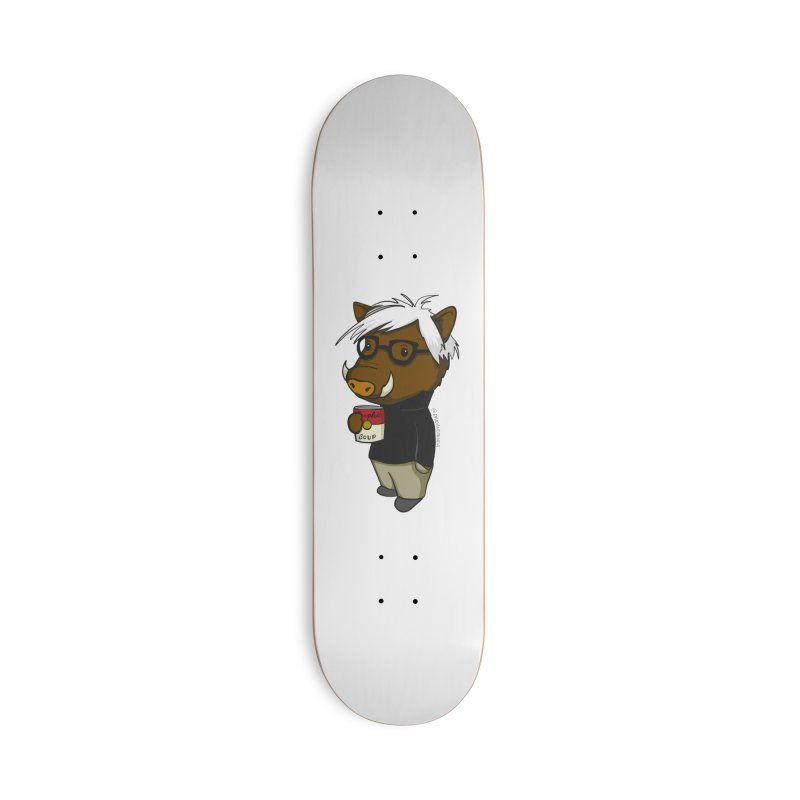 Andy Warthog Accessories Skateboard by Dino & Panda Artist Shop