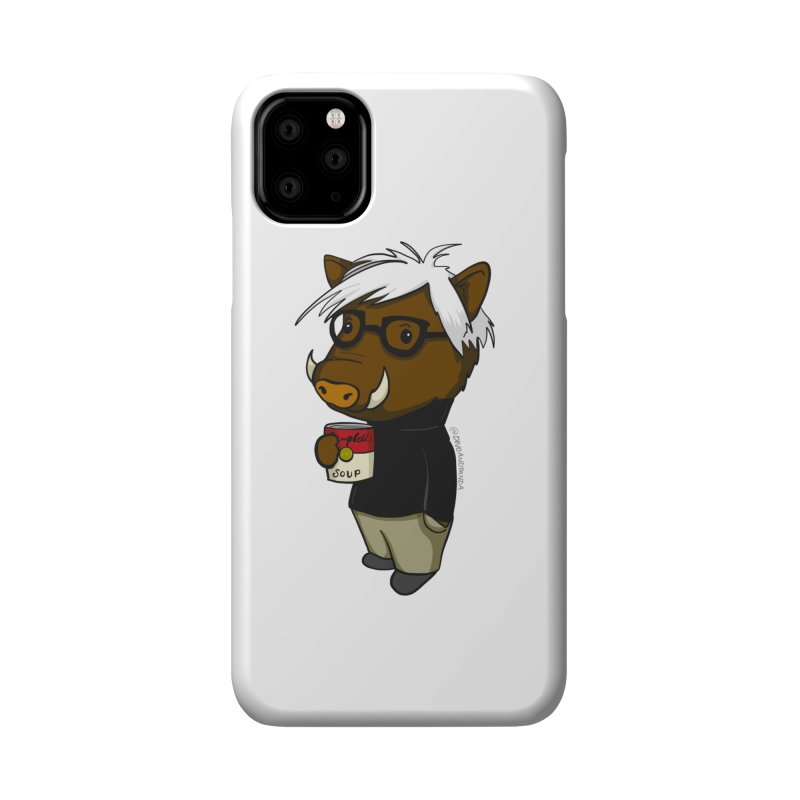 Andy Warthog Accessories Phone Case by Dino & Panda Inc Artist Shop