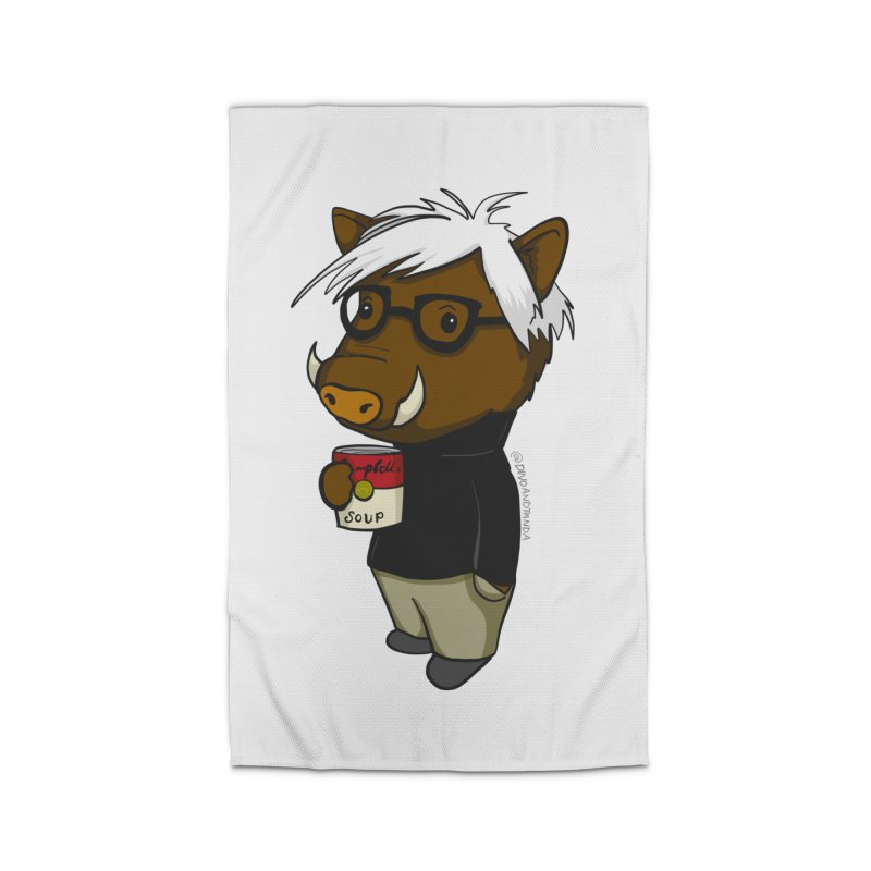 Andy Warthog Home Rug by Dino & Panda Inc Artist Shop
