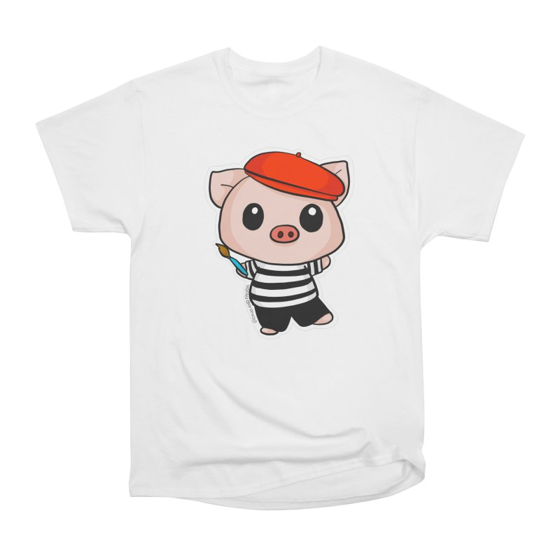 Pablo Pigcasso Women's T-Shirt by Dino & Panda Artist Shop