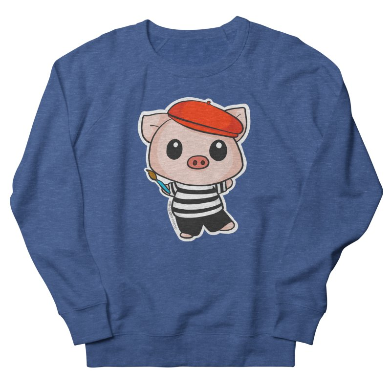 Pablo Pigcasso Men's Sweatshirt by Dino & Panda Artist Shop