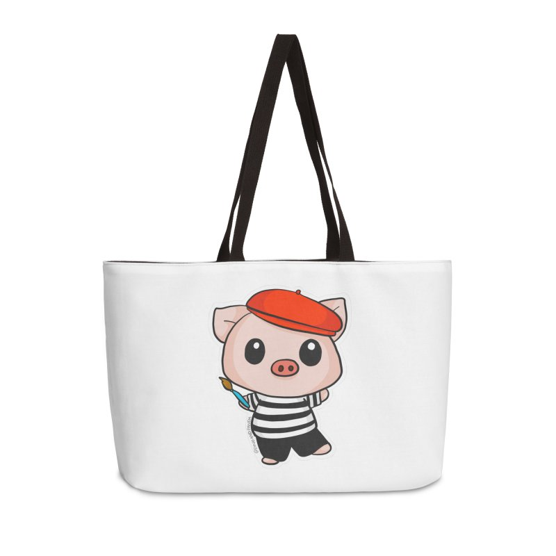 Pablo Pigcasso Accessories Weekender Bag Bag by Dino & Panda Inc Artist Shop