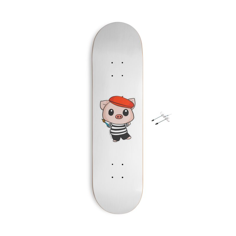 Pablo Pigcasso Accessories Skateboard by Dino & Panda Artist Shop