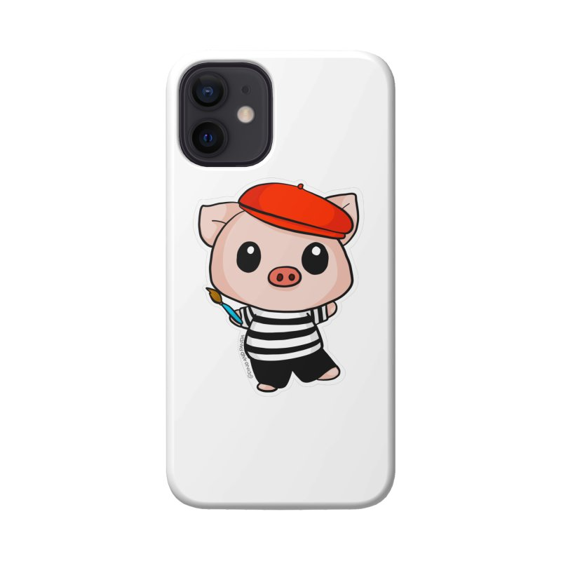 Pablo Pigcasso Accessories Phone Case by Dino & Panda Artist Shop
