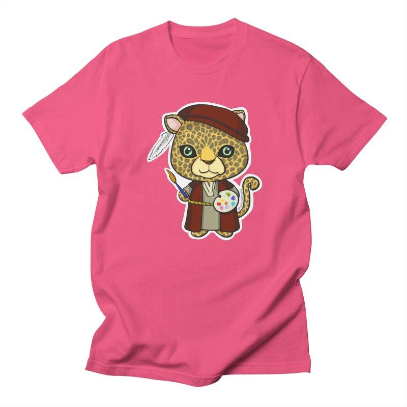 Leopardo da Vinci Women's Regular Unisex T-Shirt by Dino & Panda Inc Artist Shop