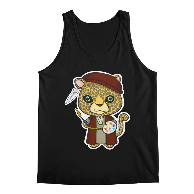 Leopardo da Vinci Men's Regular Tank by Dino & Panda Inc Artist Shop