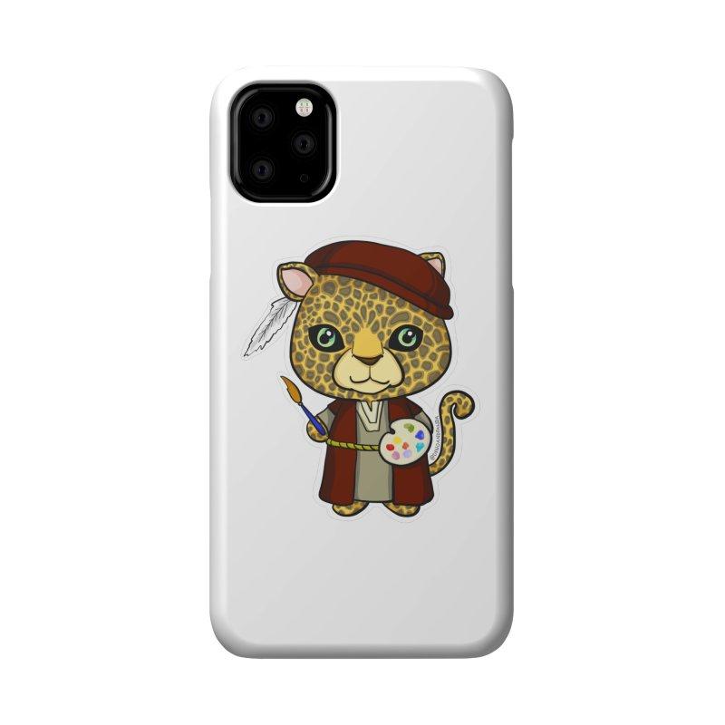 Leopardo da Vinci Accessories Phone Case by Dino & Panda Inc Artist Shop