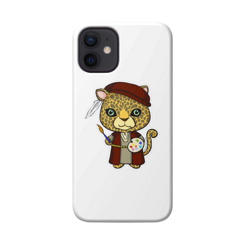 Leopardo da Vinci Accessories Phone Case by Dino & Panda Artist Shop