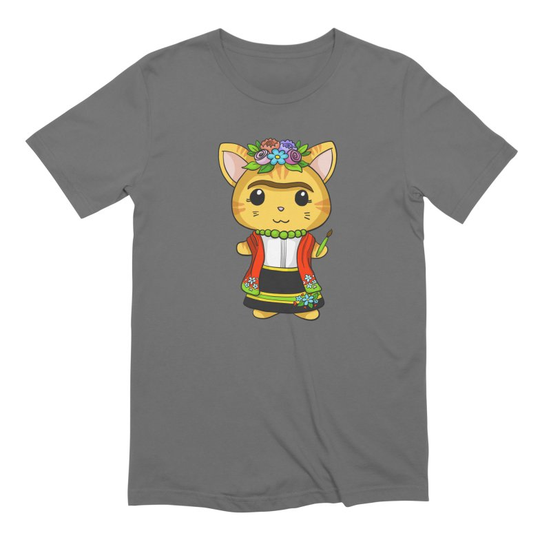 Frida Katlo Men's T-Shirt by Dino & Panda Artist Shop