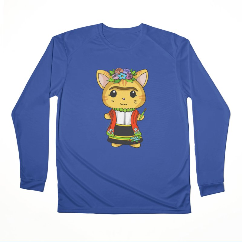 Frida Katlo Men's Performance Longsleeve T-Shirt by Dino & Panda Inc Artist Shop