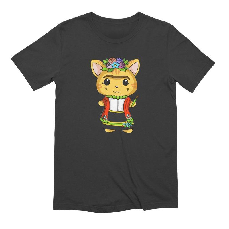 Frida Katlo Men's Extra Soft T-Shirt by Dino & Panda Inc Artist Shop