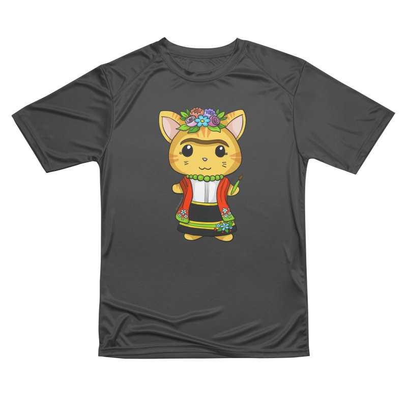 Frida Katlo Men's Performance T-Shirt by Dino & Panda Inc Artist Shop