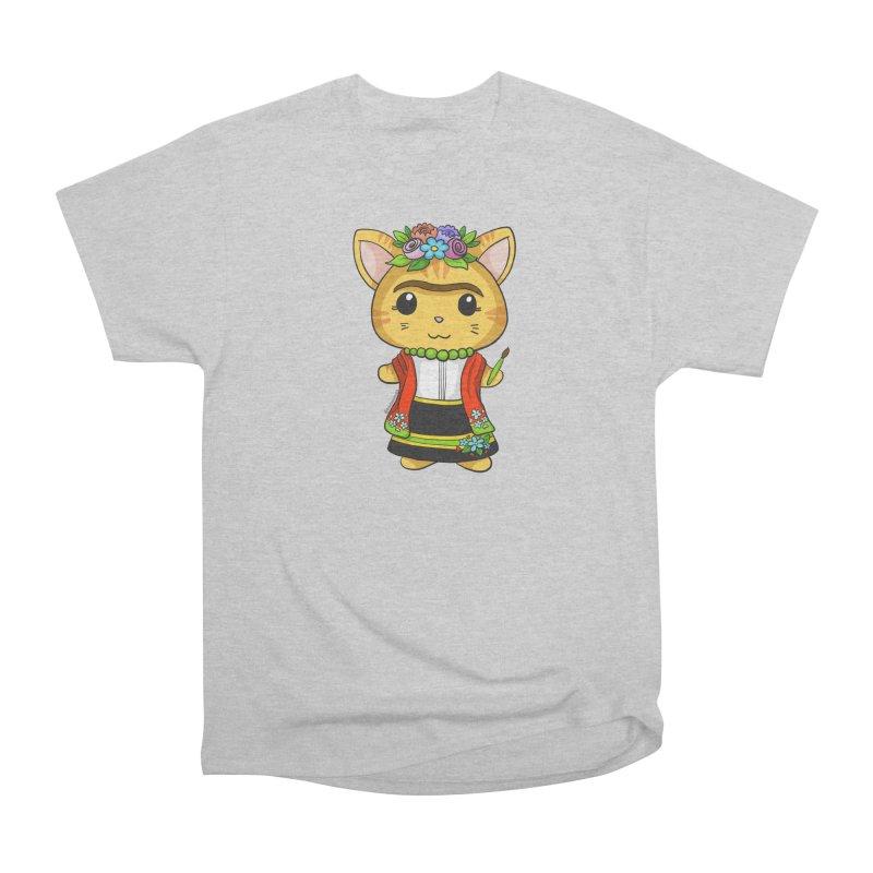 Frida Katlo Men's T-Shirt by Dino & Panda Artist Shop