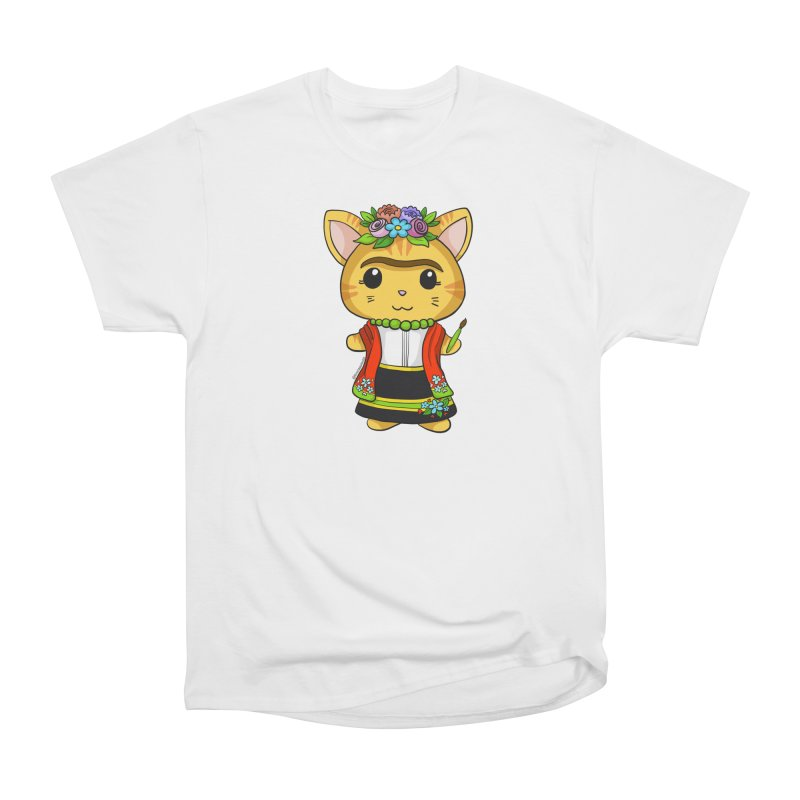 Frida Katlo Women's T-Shirt by Dino & Panda Artist Shop