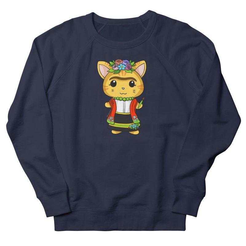 Frida Katlo Men's Sweatshirt by Dino & Panda Artist Shop