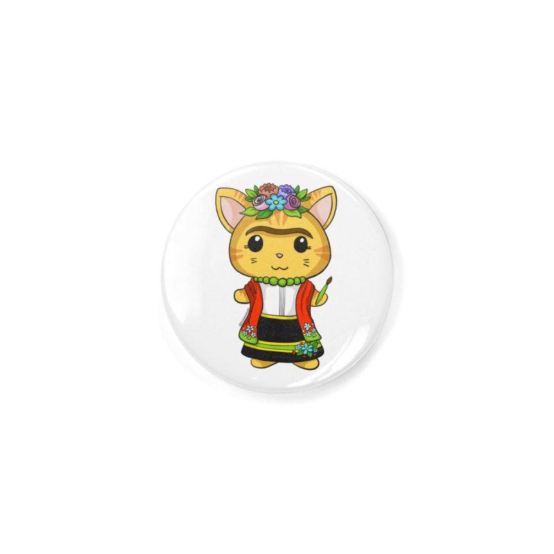 Frida Katlo Accessories Button by Dino & Panda Inc Artist Shop