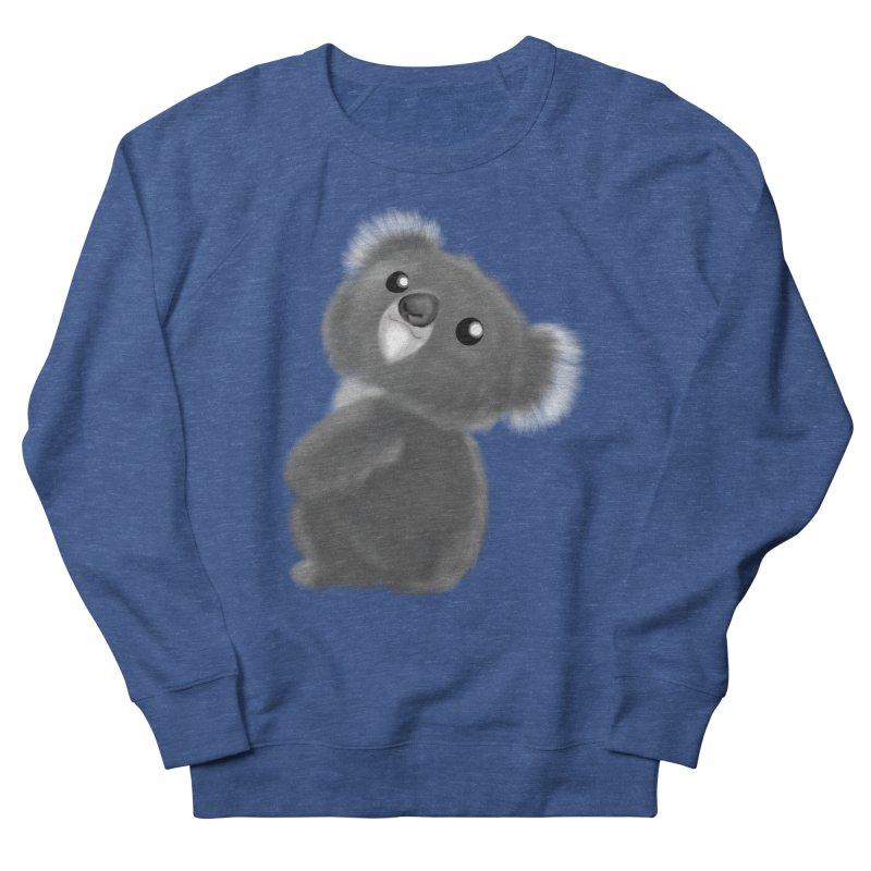 Fluffy Koala Men's Sweatshirt by Dino & Panda Artist Shop