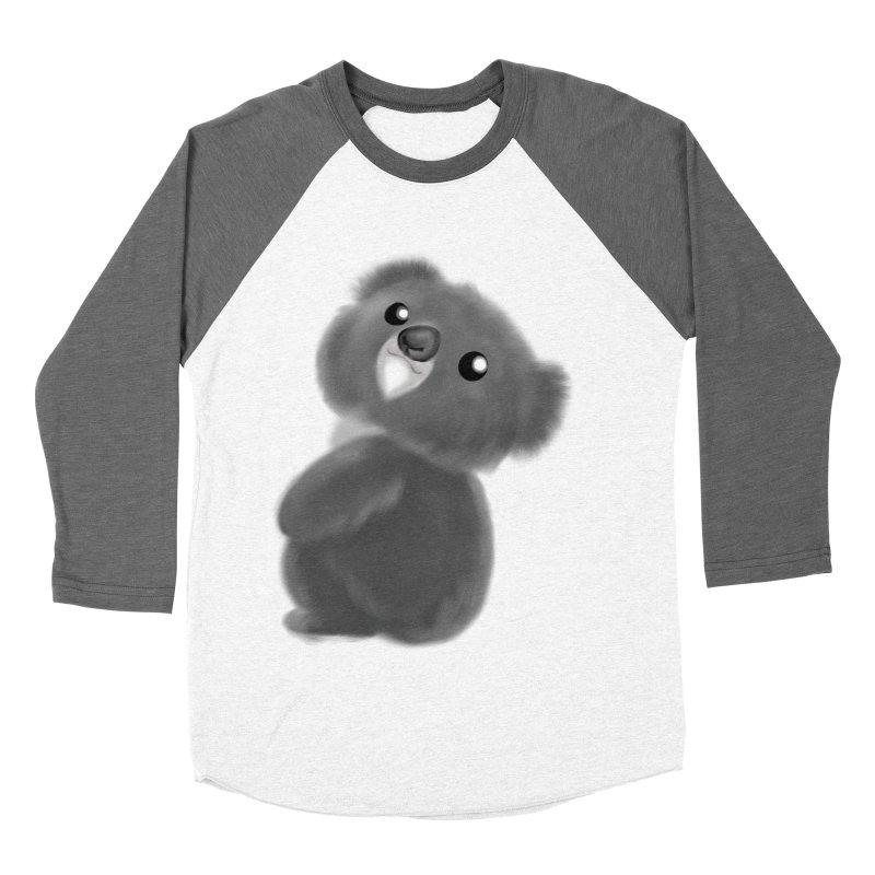 Fluffy Koala Women's Longsleeve T-Shirt by Dino & Panda Inc Artist Shop