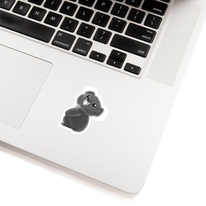 Fluffy Koala Accessories Sticker by Dino & Panda Inc Artist Shop
