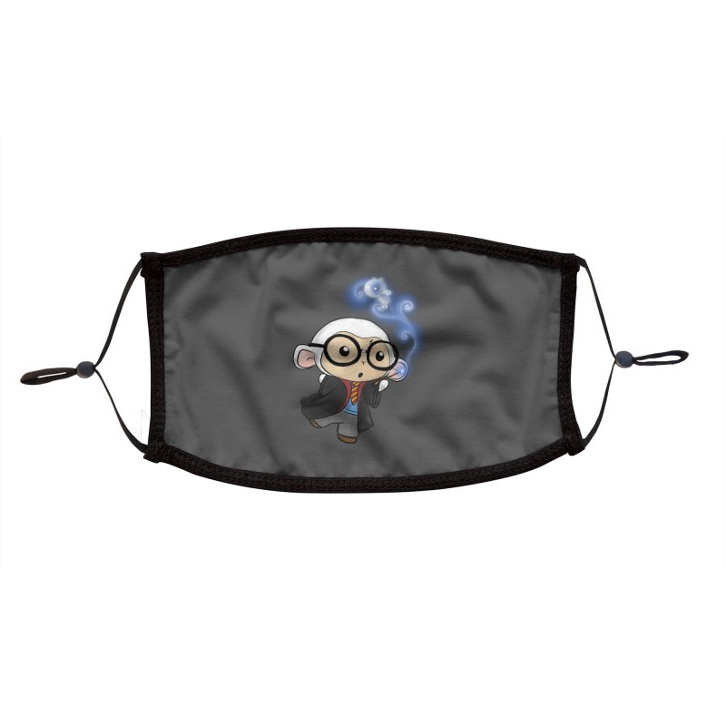 Lambie Potter and his Patronus Accessories Face Mask by Dino & Panda Artist Shop