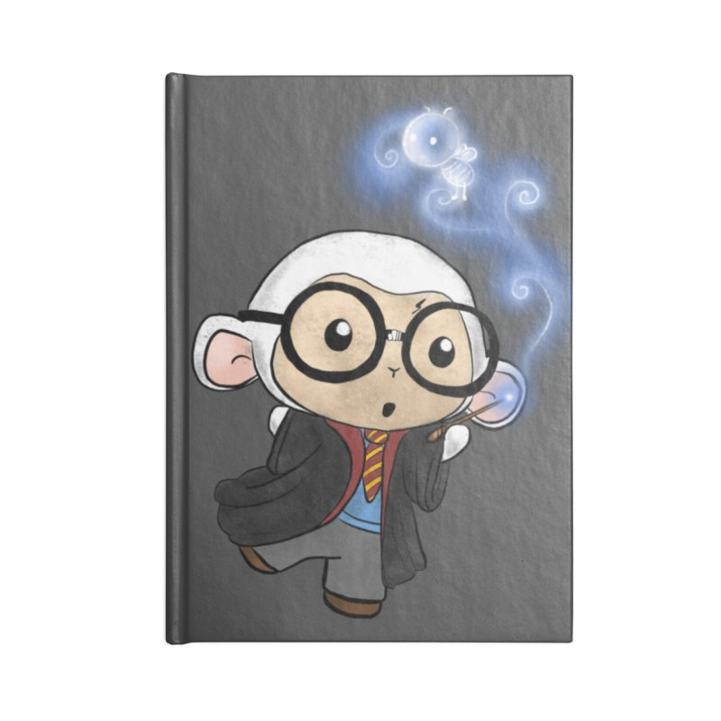 Lambie Potter and his Patronus Accessories Lined Journal Notebook by Dino & Panda Inc Artist Shop