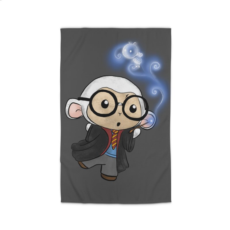 Lambie Potter and his Patronus Home Rug by Dino & Panda Inc Artist Shop