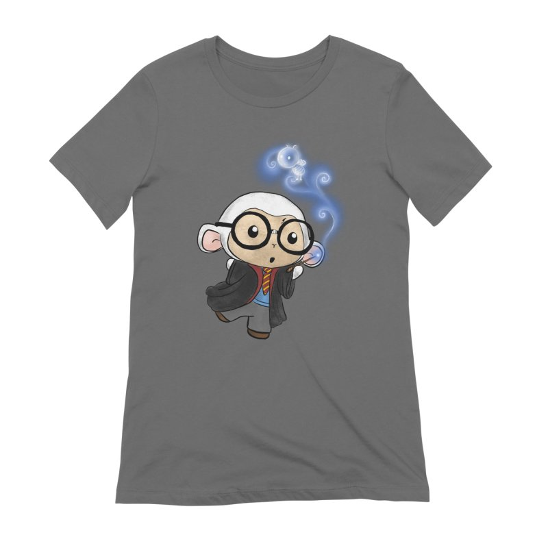 Lambie Potter and his Patronus Women's T-Shirt by Dino & Panda Artist Shop