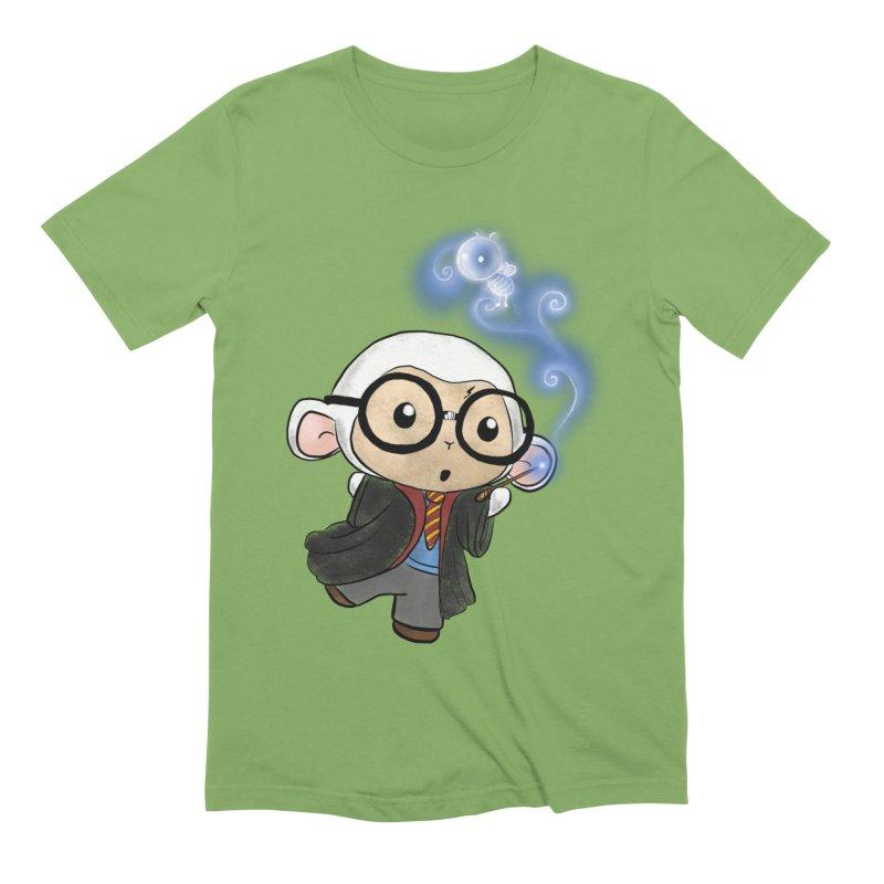 Lambie Potter and his Patronus Men's Extra Soft T-Shirt by Dino & Panda Inc Artist Shop
