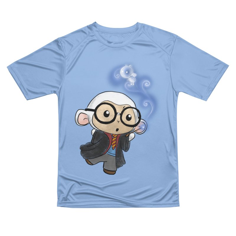 Lambie Potter and his Patronus Men's Performance T-Shirt by Dino & Panda Inc Artist Shop