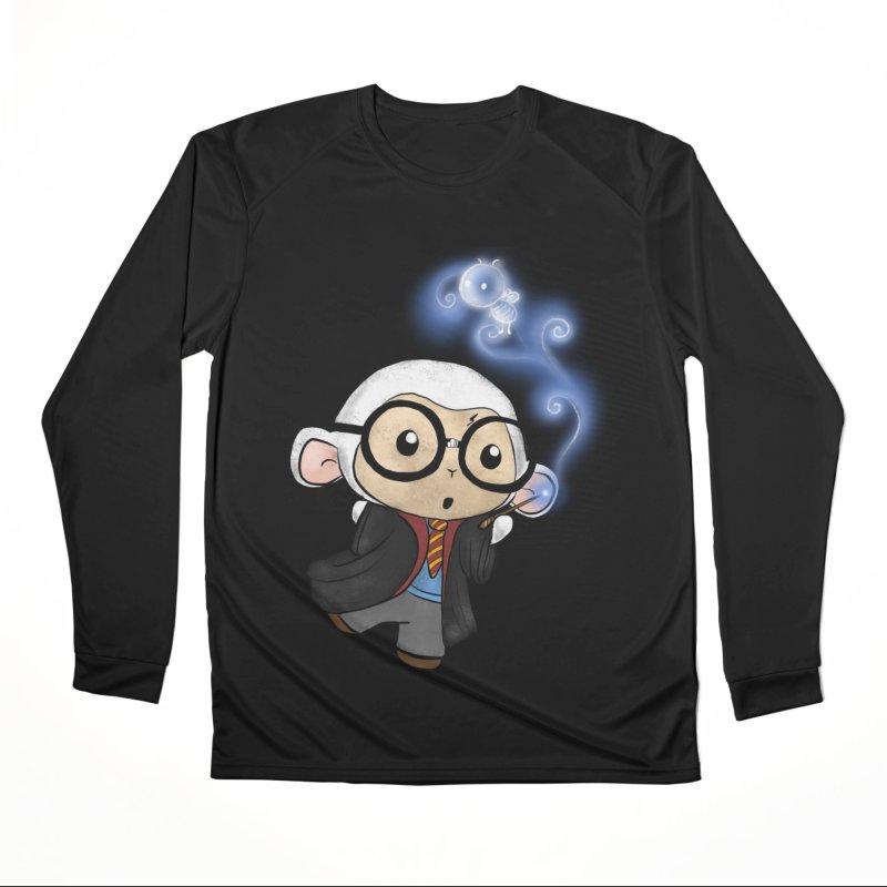 Lambie Potter and his Patronus Men's Performance Longsleeve T-Shirt by Dino & Panda Inc Artist Shop