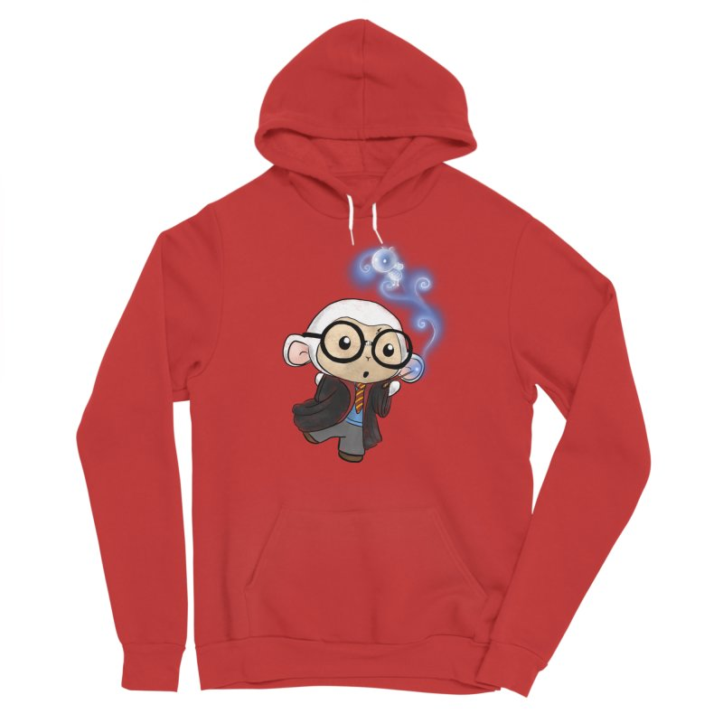 Lambie Potter and his Patronus Men's Pullover Hoody by Dino & Panda Artist Shop