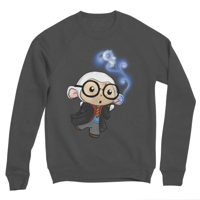 Lambie Potter and his Patronus Women's Sponge Fleece Sweatshirt by Dino & Panda Inc Artist Shop