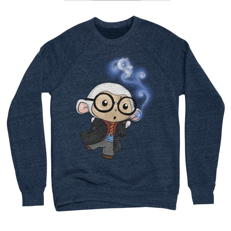 Lambie Potter and his Patronus Men's Sponge Fleece Sweatshirt by Dino & Panda Inc Artist Shop