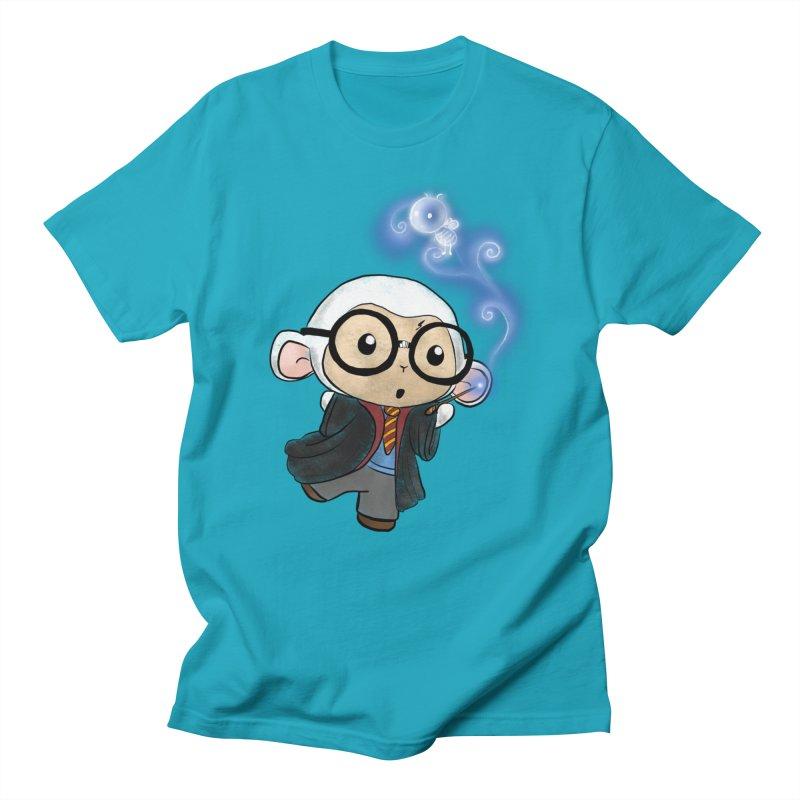 Lambie Potter and his Patronus Men's Regular T-Shirt by Dino & Panda Inc Artist Shop