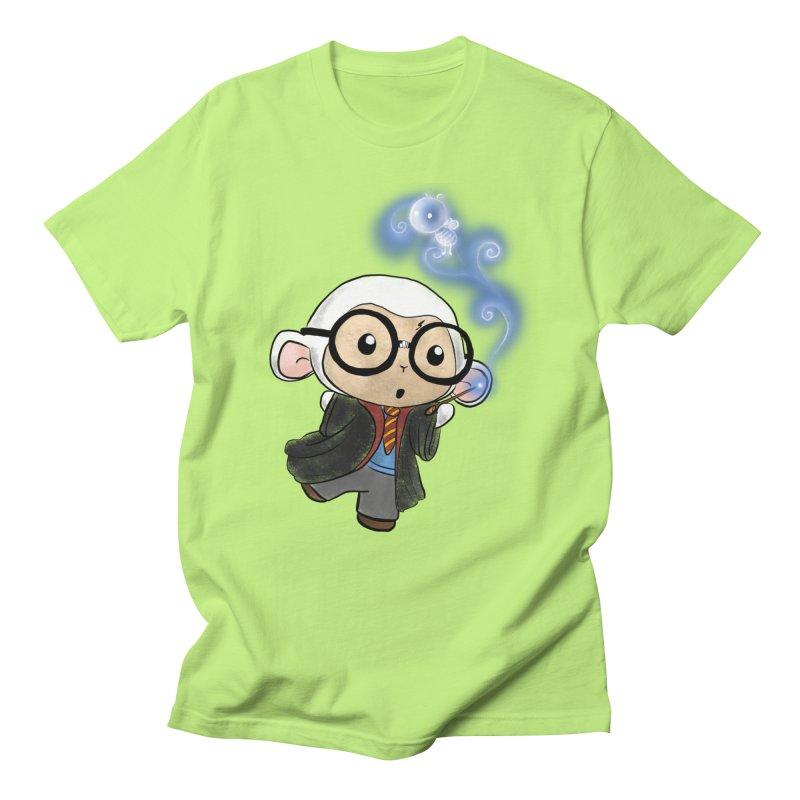 Lambie Potter and his Patronus Women's Regular Unisex T-Shirt by Dino & Panda Inc Artist Shop