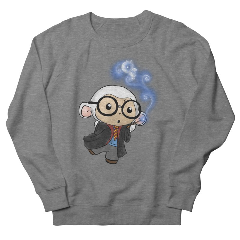 Lambie Potter and his Patronus Women's French Terry Sweatshirt by Dino & Panda Inc Artist Shop