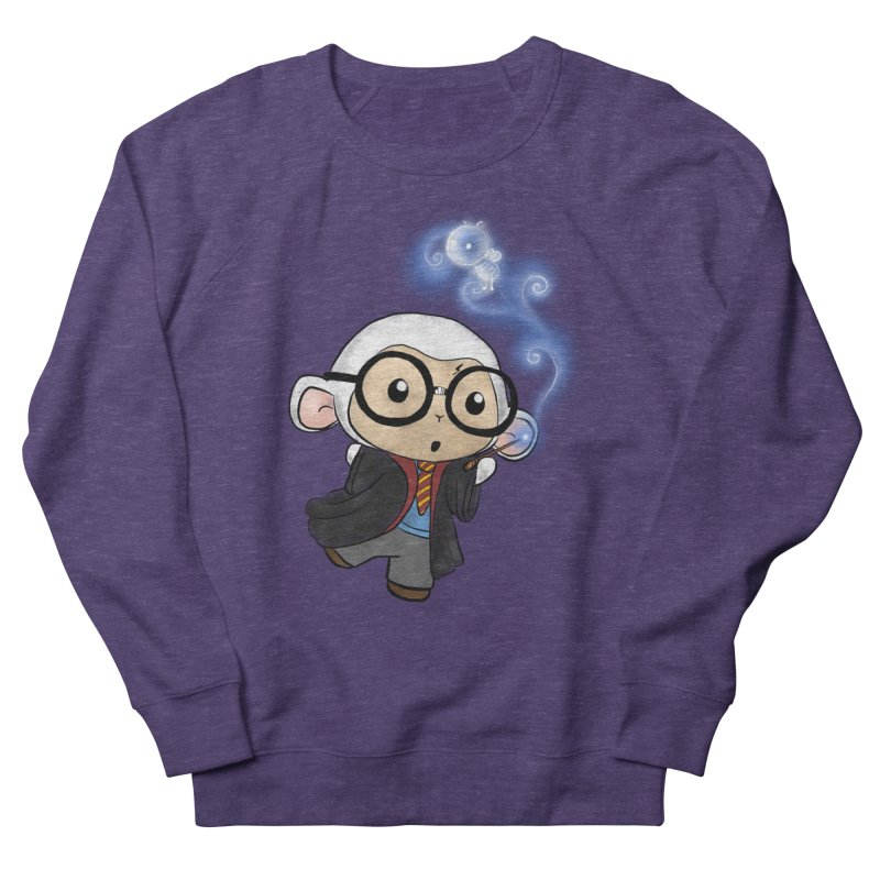 Lambie Potter and his Patronus Men's French Terry Sweatshirt by Dino & Panda Inc Artist Shop