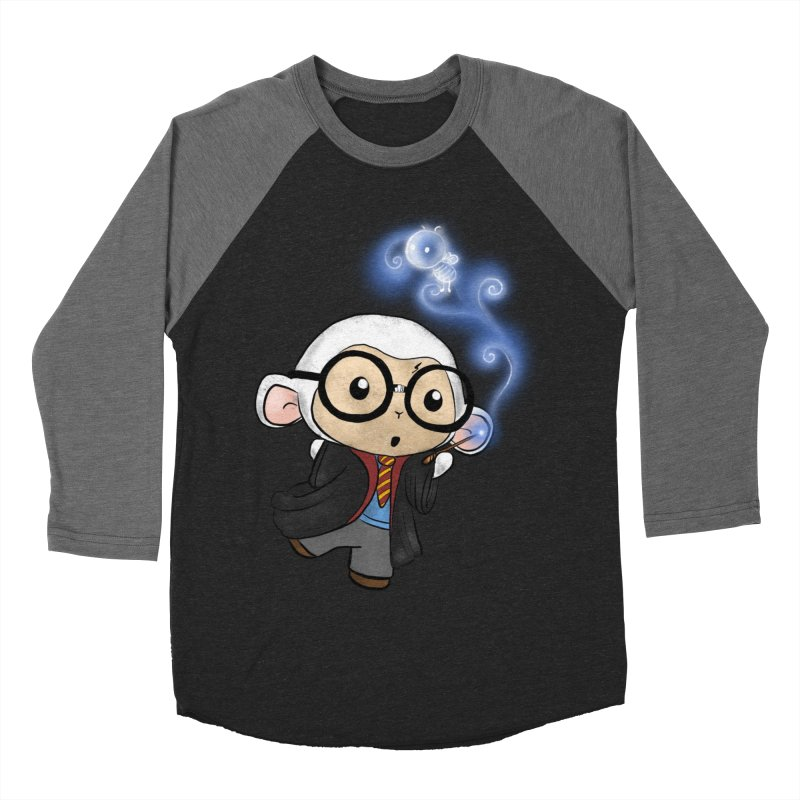 Lambie Potter and his Patronus Women's Baseball Triblend Longsleeve T-Shirt by Dino & Panda Inc Artist Shop